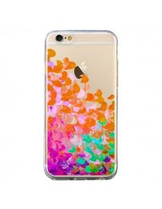 Coque iPhone 6 et 6S Creation in Color Orange Transparente - Ebi Emporium