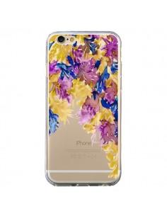 Coque iPhone 6 et 6S Cascade Florale Transparente - Ebi Emporium