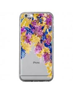 Coque iPhone 6 Plus et 6S Plus Cascade Florale Transparente - Ebi Emporium