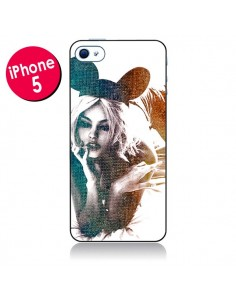 Coque Mickey Lady pour iPhone 5