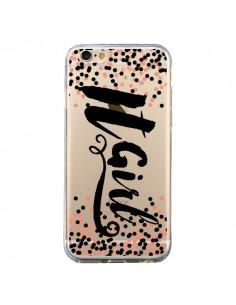 Coque iPhone 6 et 6S It Girl Transparente - Ebi Emporium
