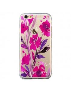 Coque iPhone 6 et 6S Roses Fleur Flower Transparente - Ebi Emporium