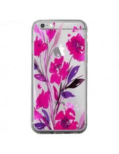 Coque Roses Fleur Flower Transparente pour iPhone 6 Plus et 6S Plus - Ebi Emporium