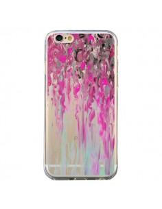 Coque iPhone 6 et 6S Tempête Rose Transparente - Ebi Emporium