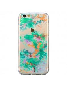 Coque iPhone 6 et 6S Mermaid Sirene Fleur Flower Transparente - Ebi Emporium