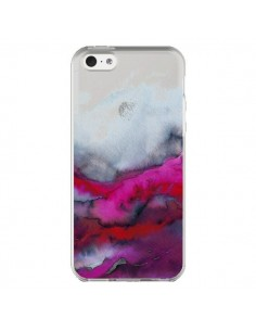 Coque iPhone 5C Winter Waves Vagues Hiver Transparente - Ebi Emporium