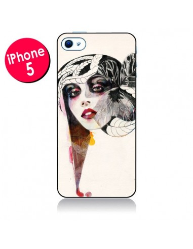 Coque Flower Girl pour iPhone 5