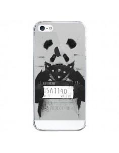 Coque iPhone 5/5S et SE Bad Panda Transparente - Balazs Solti