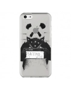 Coque iPhone 5C Bad Panda Transparente - Balazs Solti