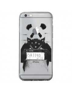 Coque iPhone 6 Plus et 6S Plus Bad Panda Transparente - Balazs Solti