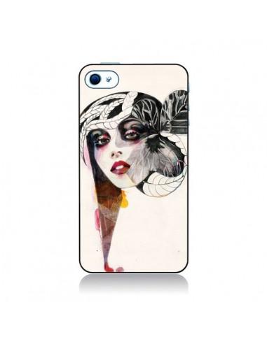 Coque Flower Girl pour iPhone 4 et 4S