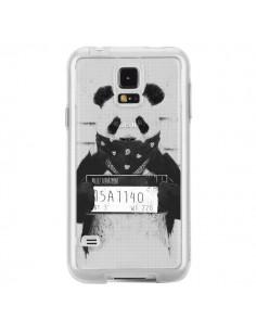 Coque Bad Panda Transparente pour Samsung Galaxy S5 - Balazs Solti