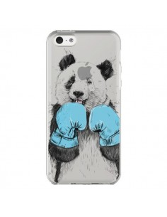 Coque iPhone 5C Winner Panda Gagnant Transparente - Balazs Solti