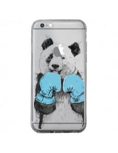 Coque iPhone 6 Plus et 6S Plus Winner Panda Gagnant Transparente - Balazs Solti
