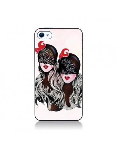Coque Gemini Jumelles pour iPhone 4 et 4S