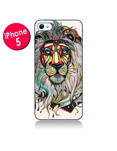 Coque Lion Leo pour iPhone 5