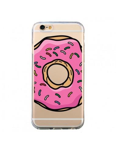 coque donuts rose transparente pour iphone 6 et 6s yohan b. Black Bedroom Furniture Sets. Home Design Ideas