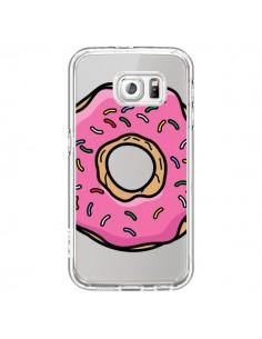 Coque Donuts Rose Transparente pour Samsung Galaxy S7 - Yohan B.