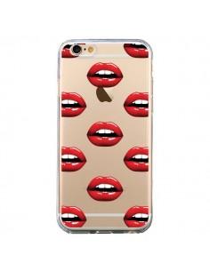 Coque Lèvres Rouges Lips Transparente pour iPhone 6 et 6S - Yohan B.