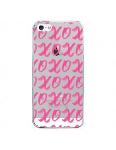 Coque iPhone 5/5S et SE XoXo Rose Transparente - Yohan B.