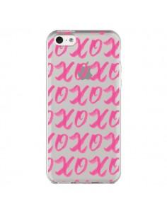 Coque iPhone 5C XoXo Rose Transparente - Yohan B.