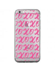Coque iPhone 6 Plus et 6S Plus XoXo Rose Transparente - Yohan B.
