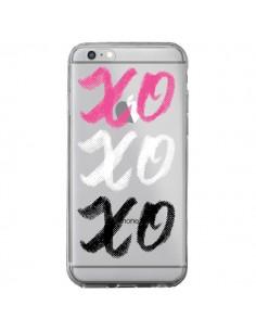 Coque XoXo Rose Blanc Noir Transparente pour iPhone 6 Plus et 6S Plus - Yohan B.