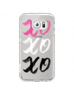 Coque XoXo Rose Blanc Noir Transparente pour Samsung Galaxy S7 - Yohan B.
