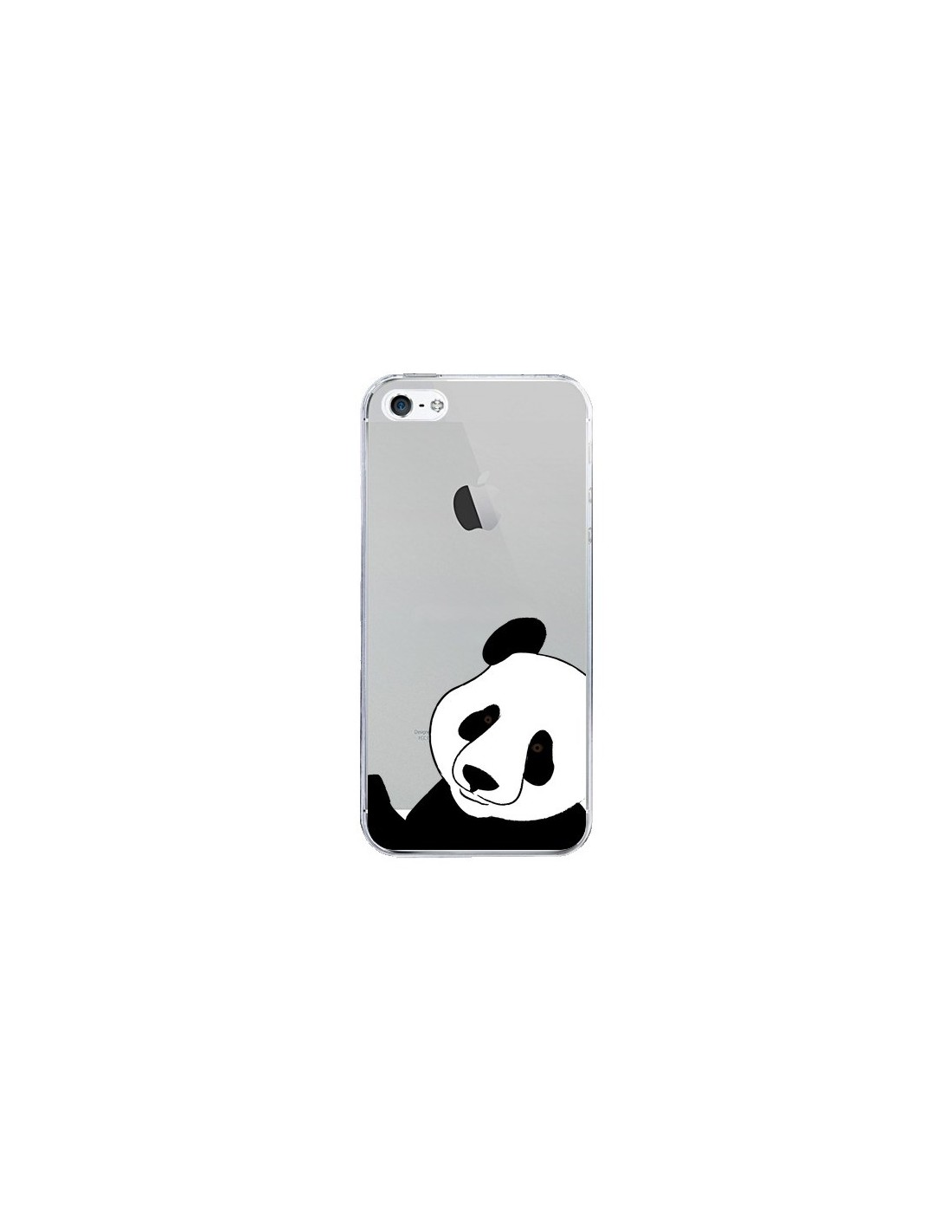 coque panda transparente pour iphone 5 et 5s yohan b. Black Bedroom Furniture Sets. Home Design Ideas