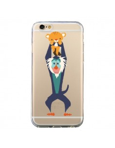 Coque Futur Roi Lion King Rafiki Transparente pour iPhone 6 et 6S - Jay Fleck