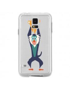 Coque Futur Roi Lion King Rafiki Transparente pour Samsung Galaxy S5 - Jay Fleck