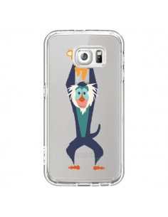 Coque Futur Roi Lion King Rafiki Transparente pour Samsung Galaxy S6 - Jay Fleck