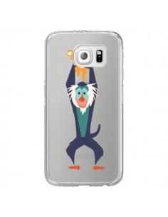 Coque Futur Roi Lion King Rafiki Transparente pour Samsung Galaxy S6 Edge - Jay Fleck