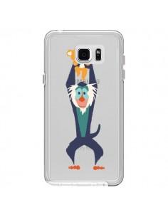 Coque Futur Roi Lion King Rafiki Transparente pour Samsung Galaxy Note 5 - Jay Fleck