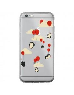 Coque Pingouin Ciel Ballons Transparente pour iPhone 6 Plus et 6S Plus - Jay Fleck