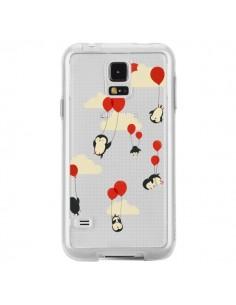 Coque Pingouin Ciel Ballons Transparente pour Samsung Galaxy S5 - Jay Fleck