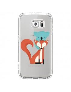 Coque Renard et Koala Love Transparente pour Samsung Galaxy S7 - Jay Fleck