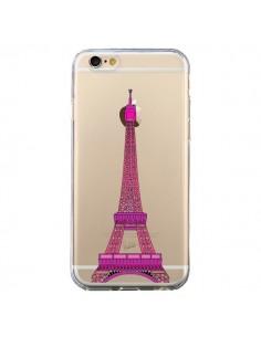 Coque Tour Eiffel Rose Paris Transparente pour iPhone 6 et 6S - Asano Yamazaki