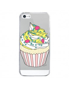 Coque Cupcake Dessert Transparente pour iPhone 5/5S et SE - Asano Yamazaki