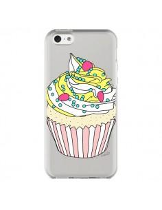 Coque Cupcake Dessert Transparente pour iPhone 5C - Asano Yamazaki