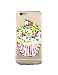 Coque Cupcake Dessert Transparente pour iPhone 6 et 6S - Asano Yamazaki