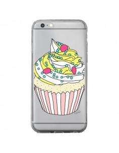 Coque Cupcake Dessert Transparente pour iPhone 6 Plus et 6S Plus - Asano Yamazaki