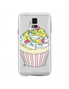 Coque Cupcake Dessert Transparente pour Samsung Galaxy S5 - Asano Yamazaki