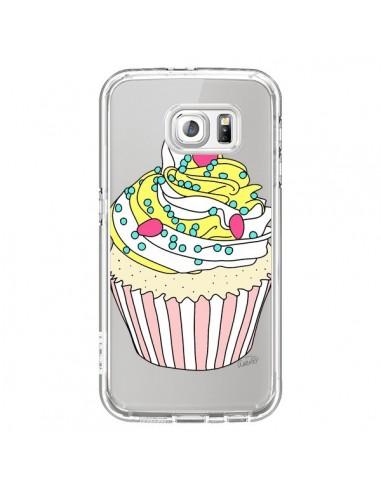 Coque Cupcake Dessert Transparente pour Samsung Galaxy S6 - Asano Yamazaki