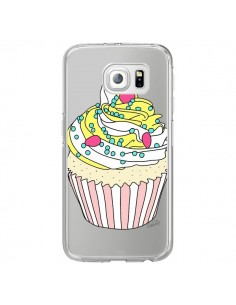 Coque Cupcake Dessert Transparente pour Samsung Galaxy S6 Edge - Asano Yamazaki