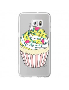 Coque Cupcake Dessert Transparente pour Samsung Galaxy S6 Edge Plus - Asano Yamazaki