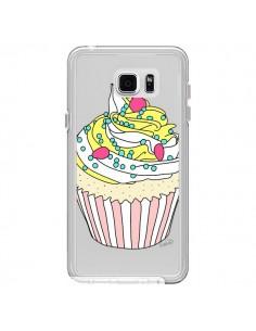 Coque Cupcake Dessert Transparente pour Samsung Galaxy Note 5 - Asano Yamazaki