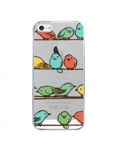 Coque Oiseaux Birds Transparente pour iPhone 5 et 5S - Eric Fan