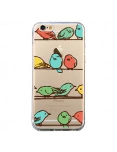 Coque Oiseaux Birds Transparente pour iPhone 6 et 6S - Eric Fan
