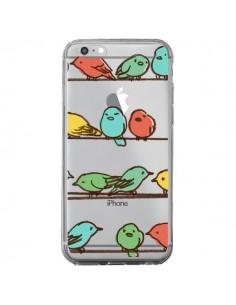 Coque Oiseaux Birds Transparente pour iPhone 6 Plus et 6S Plus - Eric Fan